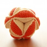 Spielball orange